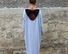 Backless Coral Caftan Maxi dress Abaya Plus size dress