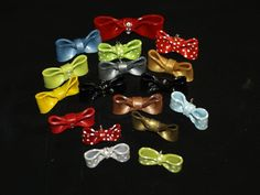 Bows for pendants, barrettes, crafts, pins, whatever.