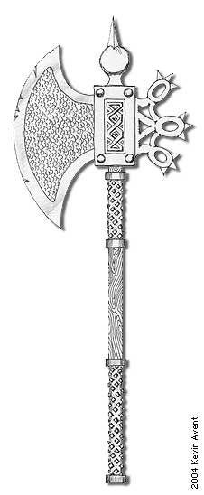 Dwarven Battle Axe by tinyelvis