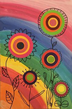 Best Spring Art Projects For Kids Flowers Student 40 Ideas Spring Art Projects, Art Projects For Adults, Toddler Art Projects, Kratz Kunst, Art For Kids, Crafts For Kids, Scratch Art, Ecole Art, Mothers Day Crafts