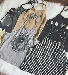 Image via We Heart It #fashion #girl #t-shirt
