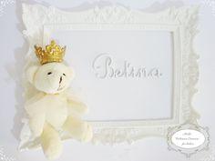 Quadro Porta Maternidade Princesa II