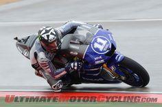 Aragon MotoGP: Spies Tops Wet Friday Practice