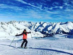 - Skiing over to Lech from St Anton. Ski Austria, Anton, Mount Everest, Skiing, Saints, Mountains, Nature, Travel, Life