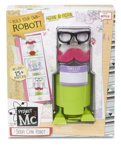 Amazon.com: Project Mc2 Soda Can Robot: Toys & Games  $11.47 + 9.59 Shipping