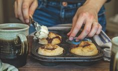 foodffs: Quick Cinnamon Rolls for two Really nice recipes....