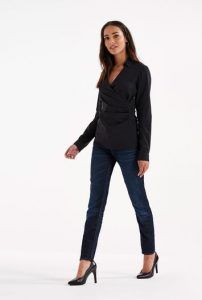 Tall Cotton Mix Stretch Wrap Shirt at Long Tall Sally. Tall Clothing and Tall Fashion for Tall Men and Tall Women at PrettyLong.com.