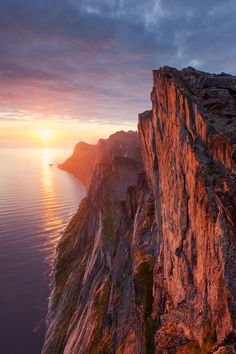 ~~Segla Wall ~  fantastic sunset, Mefjorden, Vestfold, Norway by TobiasRichter~~