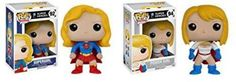 Funko POP DC Comics Super Heroes: Supergirl And Power Girl Toy Action Figure -