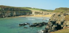 Ideally situated on the coast road between Treaddur Bay and Holyhead, Porth Dafarch is a beautiful sandy cove surrounded by rocky headland, ideal for a peaceful family day out. Family Days Out, Anglesey, Out To Sea, Things To Do, To Go, Coast, North Wales, Activities, Beach