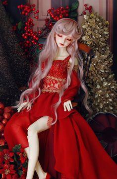 BJD CROBI Dollism2017 Doll [Dollism2017後夜祭]Lancelia Limited - Ruby Red special edition   総合ドール専門通販サイト - DOLKSTATION(ドルクステーション)