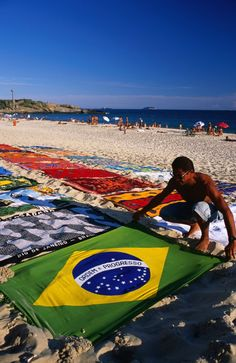 Ipanema beach - Rio, Brazil