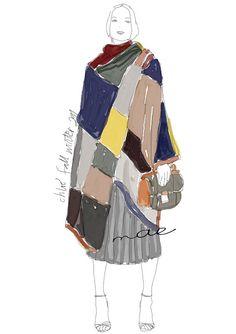 digital illustration. Chloé