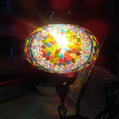 Luxurious, Handmade Mosaic Lights For Dining, Turkish Moroccan Ceiling Light ' Color Burst' Hanging Lamp Shade, Hanging Ceiling Lights, Hanging Chandelier, Chandelier Lighting, Ceiling Lamp, Turkish Lights, Turkish Lamps, Moroccan Lighting, Moroccan Lamp
