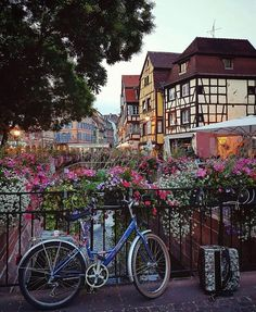 """""""Spring Day in Alsace, France. Strasbourg, Alsace, Bicycle Friendly Cities, Beautiful World, Beautiful Places, France Travel, Paris, Vacation Spots, Cool Places To Visit"""