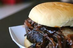 Slow Cooker Pulled Pork BBQ. Trying this recipe for supper tonight. Hope its amazing!