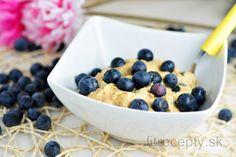 Fit karfiolová praženica s pórom Cannoli, Tofu, Food Inspiration, Smoothies, Healthy Recipes, Healthy Food, Cereal, Oatmeal, Paleo