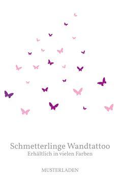 Wandtattoos sind eine einfache und schnelle Möglichkeit, Farbe an die Wände zu bringen. Dieses und viele andere Motive mit Tieren sind im Shop zu finden. Different Shapes, Animal Themes, Patterns, Colors