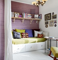 Ruth Burt International - Interior Designs - Interior designer inspired by all manner of design, decoration, art and architecture. Art And Architecture, Girls Bedroom, Bunk Beds, Toddler Bed, Entryway, Design Inspiration, Interior Design, Purple, Modern