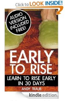 Get your copy of Early to Rise & join the Early to Rise Challenge beginning March 1, 2013, on MoneySavingMom.com!
