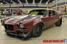 """A big congrats to the crew at Dutchboys Hotrods for winning the """"Best Modified Vehicle"""" title, at this past weekend's Buffalo Motorama, with their famous 700HP LS7-powered '71 Camaro on JRi Shocks, Baer Brakes, and BFGoodrich Tires Rivals on Forgeline GA3C Concave wheels finished with Matte Bronze centers & Satin Black outers! See more at: http://www.forgeline.com/customer_gallery_view.php?cvk=1506  #Forgeline #GA3C #notjustanotherprettywheel #madeinUSA #Chevy #Chevrolet #Camaro"""