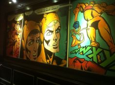 There is an awesome bar in Prague called Batalion. It is local hangout full of comic art. A great discovery when I visited the city.