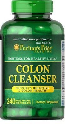 ENVIO 24h: COLON Cleanser 240c Protector del colon y del s. digestivo PURITANS