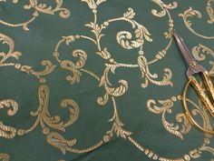 54 breit baumwolle mischung gold und gr n brokat von annasdream hochzeitsgewand mann. Black Bedroom Furniture Sets. Home Design Ideas