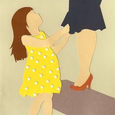 Cut paper art. Emily King art