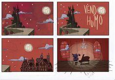 """¡Y la música se convirtió en dibujos animados!  """"Vendo Humo"""" es un proyecto de animación, ilustración y música que nos cuenta la historia de """"Uve"""", un pianista muy especial con el poder de controlar al humo.  ¡Entra y participa!  ¡Hagamos que el humo se extienda!"""