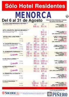 Sólo Hotel residentes - Hoteles en Menorca - http://zocotours.com/solo-hotel-residentes-hoteles-en-menorca-2/