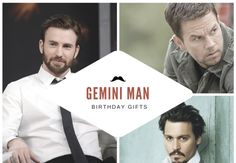 Best Birthday Gifts For Gemini Men Giftsformen Husband Giftideas Man