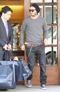 David Beckham Fashion Style | back look which he styles with an assortment of accessories beanies ...