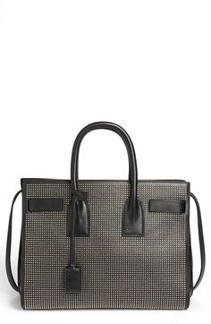 Saint Laurent 'Small Sac de Jour Studs' Leather Tote | Nordstrom