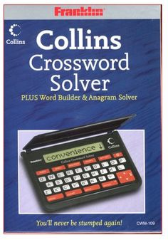 Franklin Cwm109 Collins Crossword Solver -- Visit the image link more details. (Note:Amazon affiliate link) #ElectronicGadgets