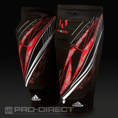 adidas F50 Messi Pro Lite Pads.  With an easy slip-in construction for an optimised fit, a lightweight and flexible shield and a supportive compression sleeve, stay light and protected like Messi in these adidas f50 Pro Lite Pads. Exclusive in the UK to Pro-Direct Soccer & adidas.