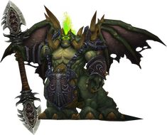 Mannoroth, The Destructor