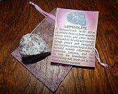GENUINE LEPIDOLITE - Genuine Rough Lepidolite - 1+ Inch Gemstones - Lucky Stone, Eliminates Anxiety, Brings Peace, Protection, Optimism