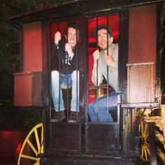 Looks like @Drew Scott and @J D Scott got locked up after a wild night out!