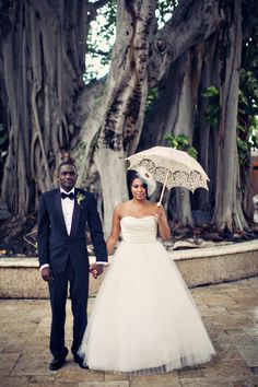 Miami destination wedding planned by Luxe Fete and photographed by Clayton Austin.