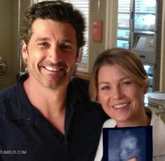 Meredith and Derek ☝