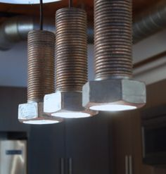 Glazed Ceramic Bolt Pendants Lights, x H. Includes wiring kit and ceiling mount. Each piece is hand made. Slight variations in color and tone. Cabin Lighting, Lighting Ideas, Glazed Ceramic, Pendant Lighting, Pendants, Ceiling, Kit, Ceramics, Lights