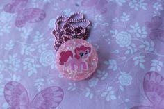 My Little Pony Pinkie pie Resin Necklace