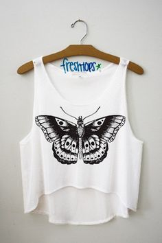 Style Flutter Crop Top - Fresh-tops.com literally if you are truly obsessed with Harry Styles and his many tattoos you get this