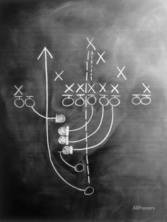 Football Play on Chalkboard or basketball, how cute for sports theme bedroom- great for man cave or game room/basement ~Lee Football Rooms, Football Bedroom, Football Man Cave, Football Decor, Sports Man Cave, Football Spirit, Football Photos, Sport Football, Baseball Players