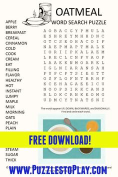 Printable Puzzles, Free Printable Worksheets, Free Printable Coloring Pages, Printable Labels, Free Word Search Puzzles, Kids Word Search, Puzzle Games, Puzzle Books, Nursing Home Activities