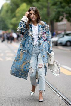 Street Style Milán  - ELLE.com