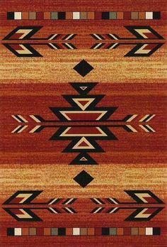 Southwestern Apache Lodge Claret Black Area Rug in Home & Garden, Rugs & Carpets, Area Rugs Native American Rugs, Native American Patterns, Native American Images, Native American Design, Native Design, Southwestern Area Rugs, Southwestern Home Decor, Southwest Quilts, Indiana