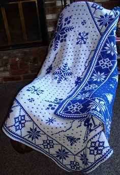 Ravelry: Scenes of Winter pattern by Gertraud L. Hurley
