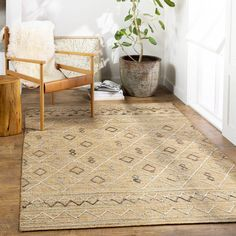 Kindred Abode Kayseri Maya Area Rugs | Jute Moroccan Area Rugs | Rugs Direct